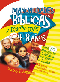 Bible Crafts & More (Ages 4-8) vol.1 - Spanish Version PDF